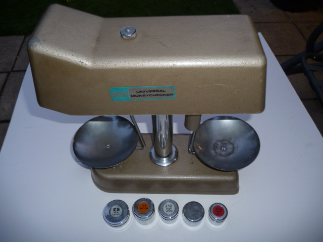 OMAL Universal Money Checker with 8 Weights