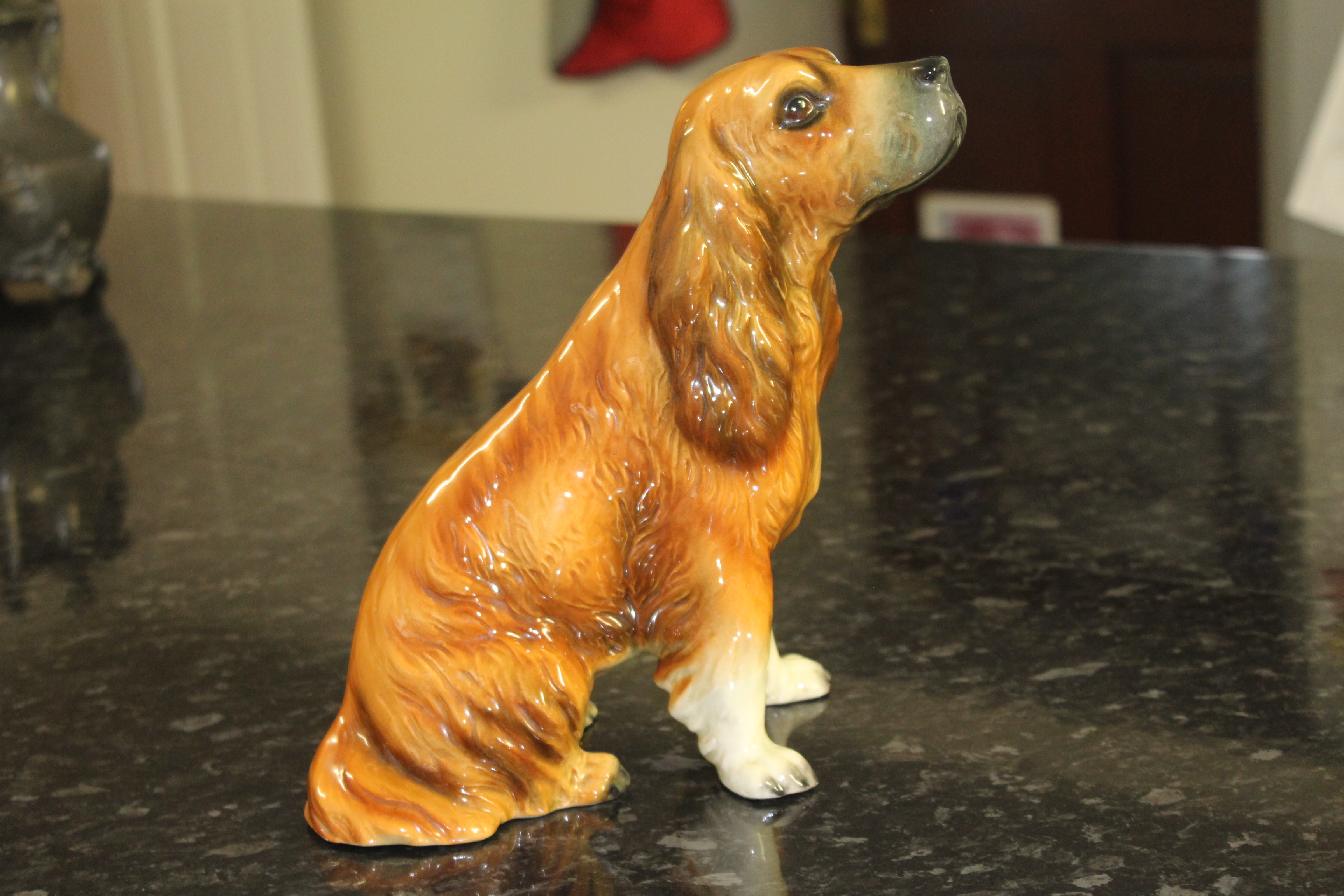West German Porcelain Spaniel