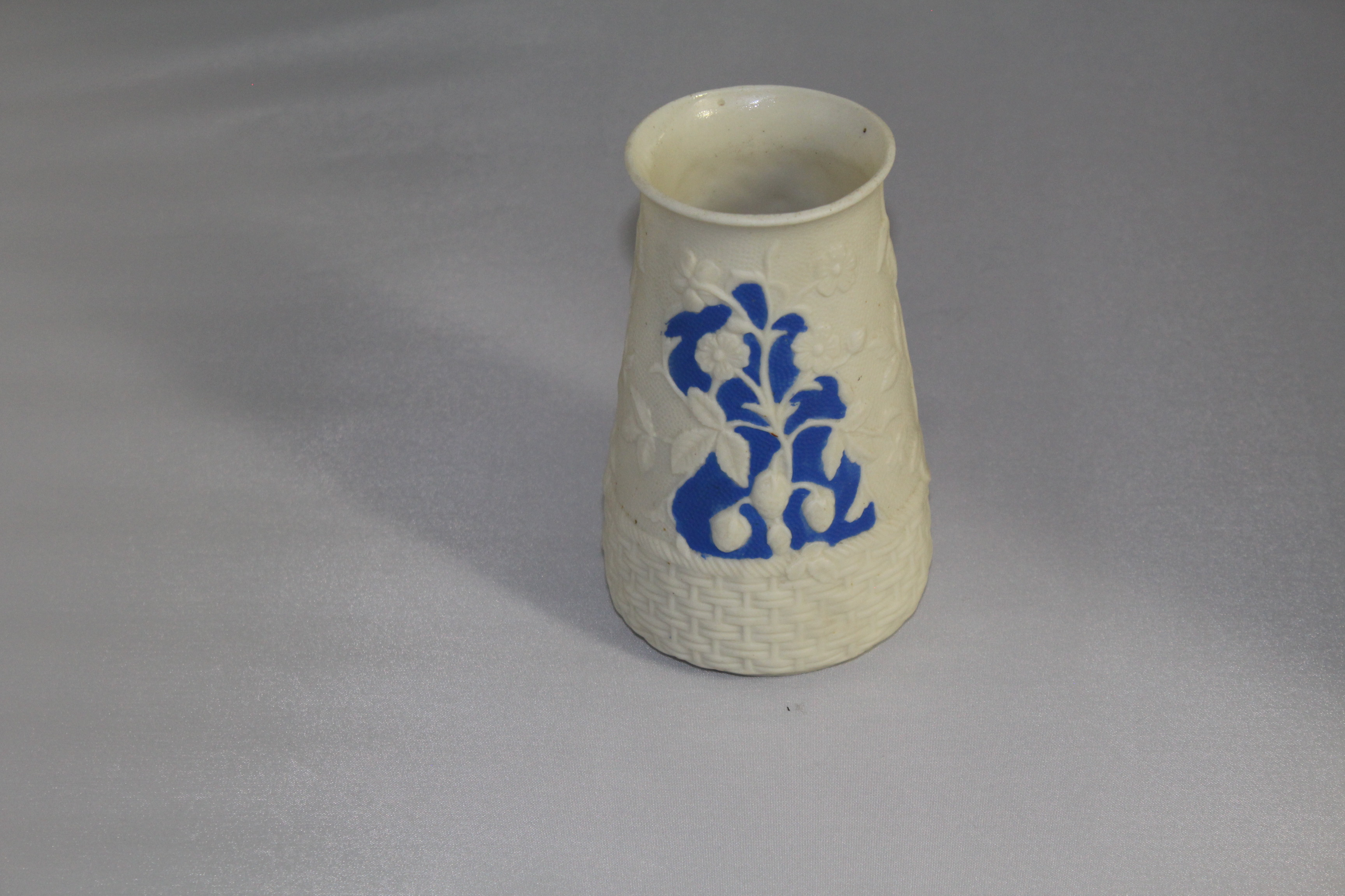 Blue and White Parianware Vase
