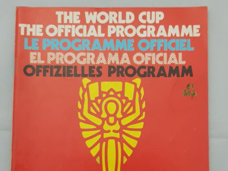 The World Cup Official Programme Mexico 1970
