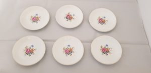 Six (6) Alfred Meakin Saucers