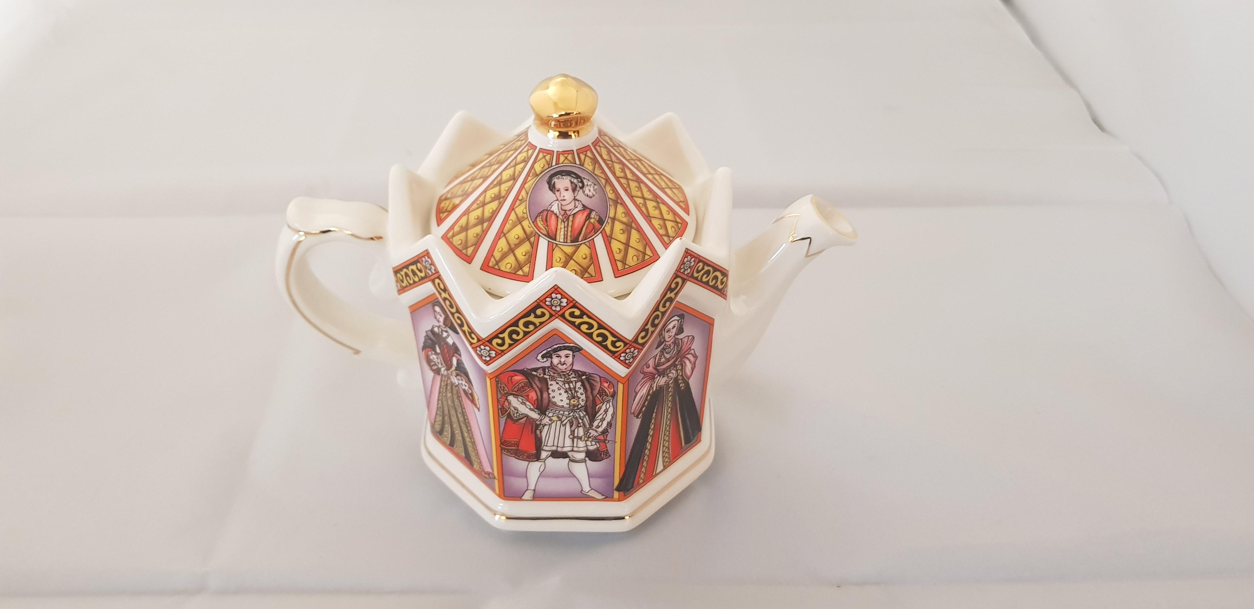 """Sadler Teapot """"Henry VIII"""""""